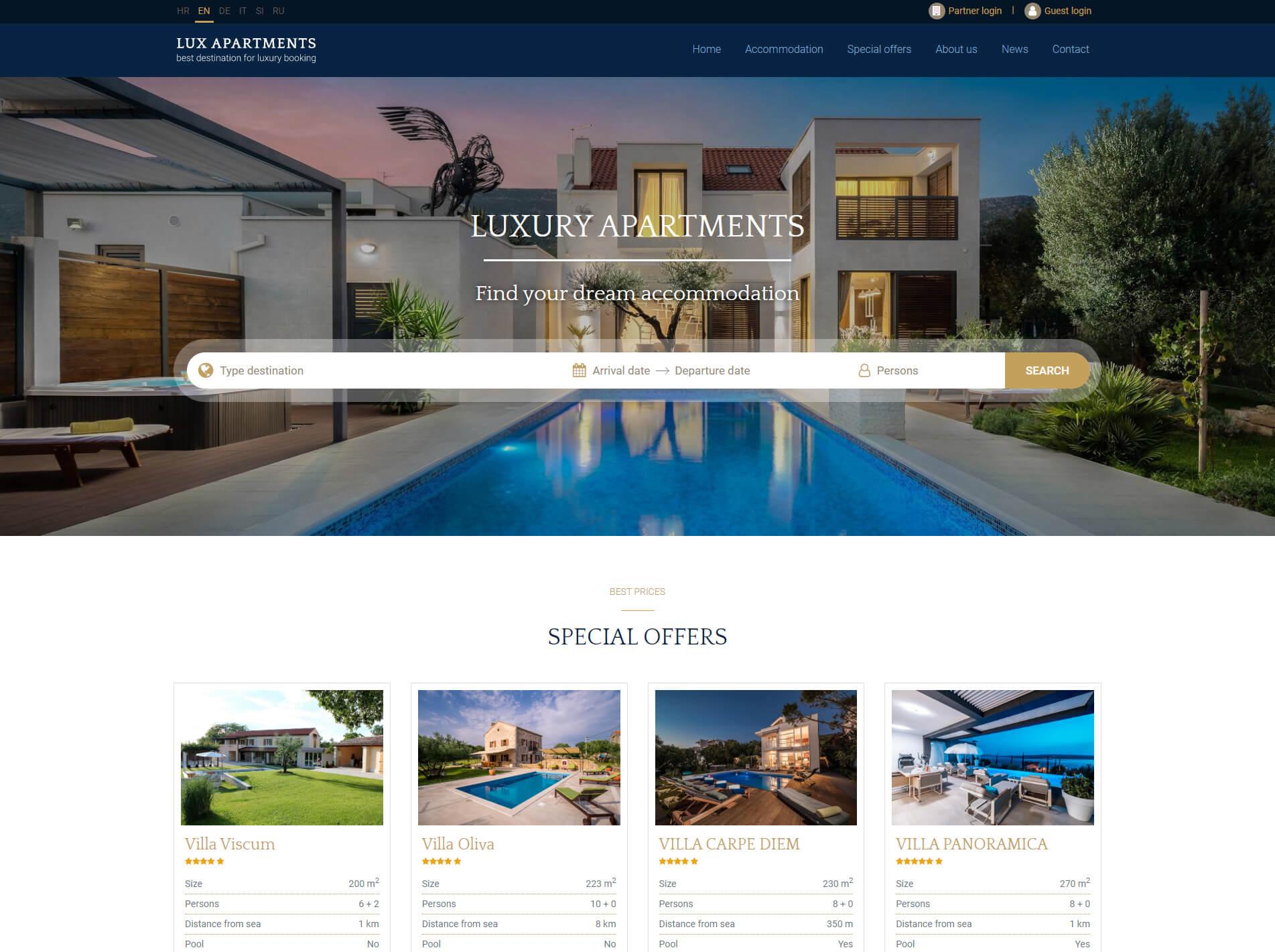 Agencija – luxury